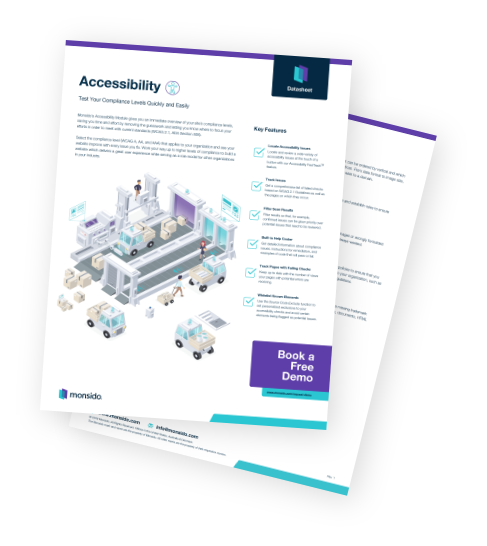 Accessibility Data Sheet
