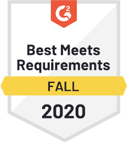G2 Best Meets Requirements Fall 2020