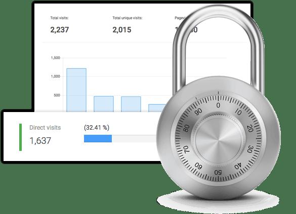 Control analytics data