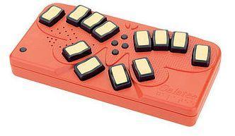 A Braille keyboard