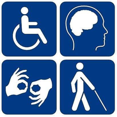 web accessibility logo