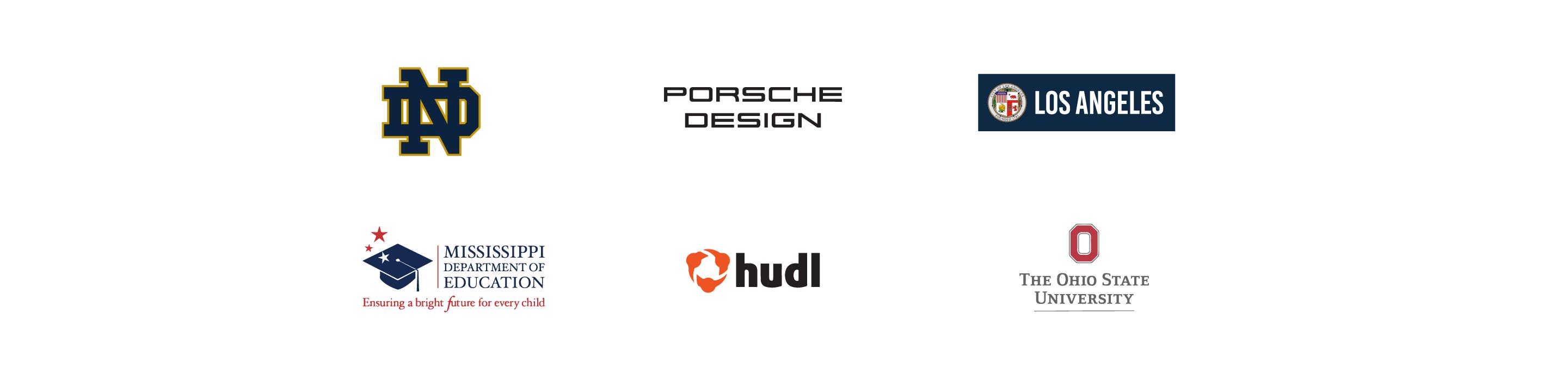 Logos of Monsido Customers