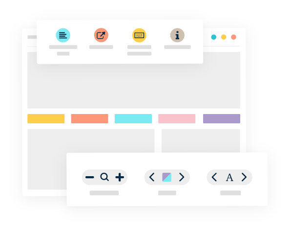 Illustration of Monsiso's PageAssist toolbar
