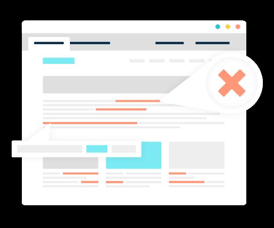 Illustration of Monsido's PageCorrect Toolbar