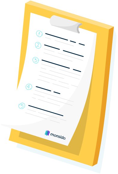 An illustration of a checklist
