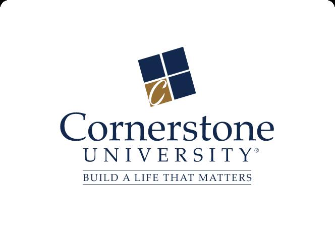 Cornerstone University Logo.