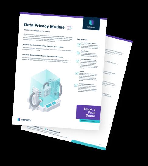 Monsido's data privacy Handbook