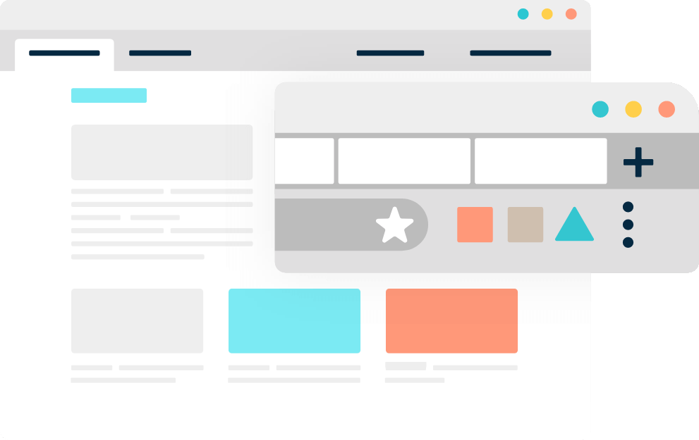 Illustration of Monsido's Browser Extension