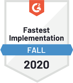 G2 Fastest Implementation Fall 2020