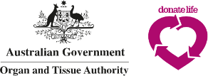 Australian Government Organ and Tissue Authority logo