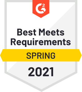 G2 Best meets requirements Spring 2021