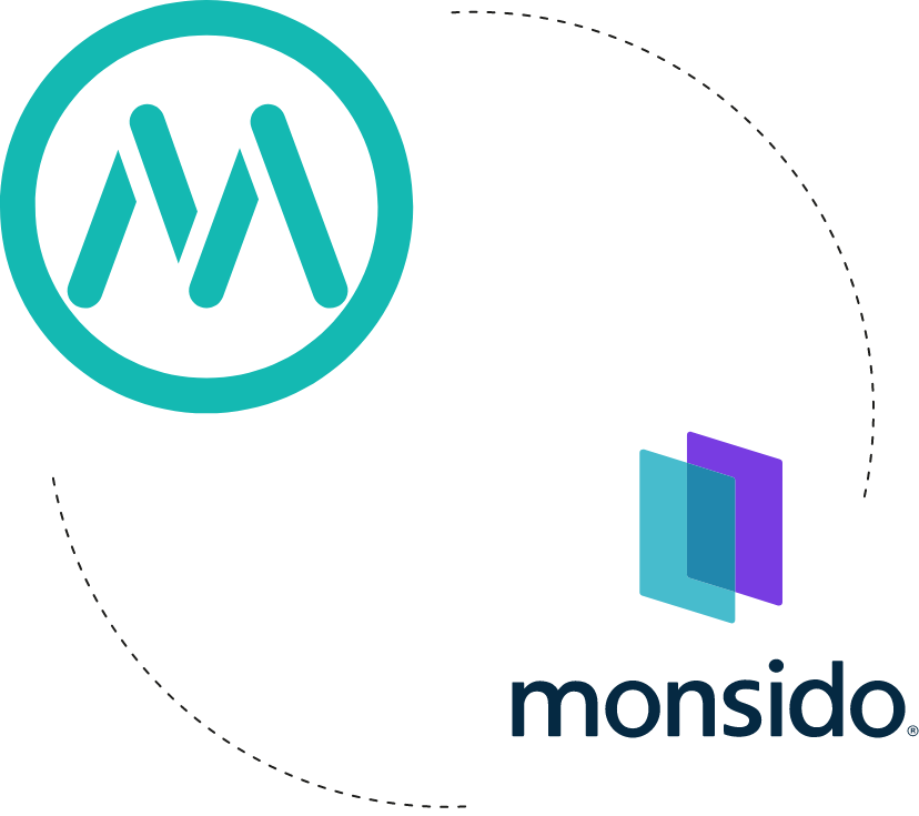 Logos of Mainstreethost that works with Monsido