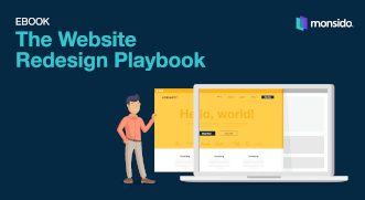 Ebook: The Website Redesign Playbook cover