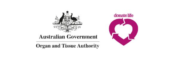 australian government organ and tissue authority logo