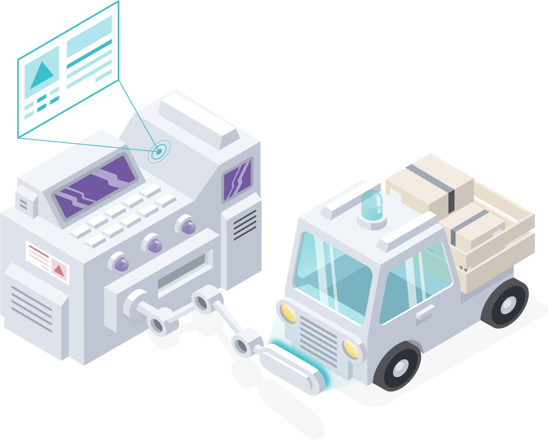 Imaginary illustration of improving digital presence using Monsido's Platform